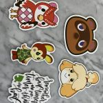 Animal Crossing Themed Magnets