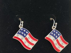 USA Flags earrings
